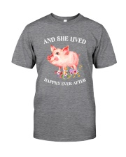 Pig Happy Classic T-Shirt front