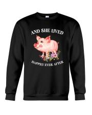 Pig Happy Crewneck Sweatshirt thumbnail