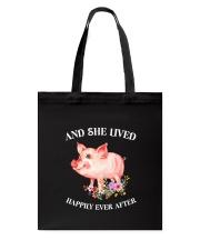 Pig Happy Tote Bag thumbnail