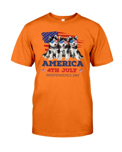 4th July Siberian Husky
