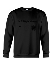 Yorkshire Terrier Simple Woman Crewneck Sweatshirt thumbnail