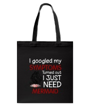 Mermaid Symptoms Tote Bag tile