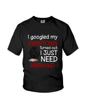 Mermaid Symptoms Youth T-Shirt tile