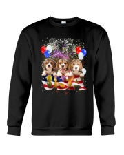 USA Beagle Crewneck Sweatshirt thumbnail