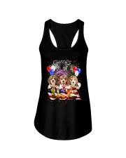 USA Beagle Ladies Flowy Tank thumbnail