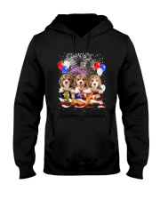 USA Beagle Hooded Sweatshirt thumbnail