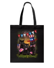 Black Cat America Tote Bag thumbnail