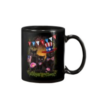 Black Cat America Mug thumbnail