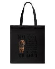 Dear Mommy Dachshund Tote Bag thumbnail