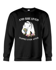 Autism Happily Ever After Crewneck Sweatshirt thumbnail