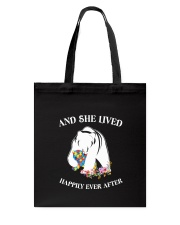 Autism Happily Ever After Tote Bag thumbnail