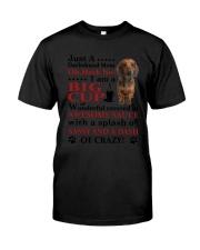 Dachshund Crazy Funny Classic T-Shirt thumbnail