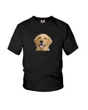 Human Dad Golden Retriever Youth T-Shirt thumbnail
