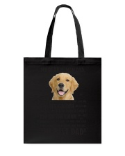 Human Dad Golden Retriever Tote Bag thumbnail