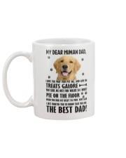 Human Dad Golden Retriever Mug back