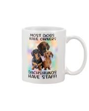 Staff Dachshund Mug front