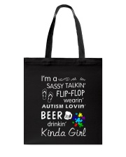 Autism All I Need Tote Bag tile