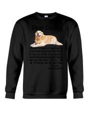 Daddy Golden Retriever Crewneck Sweatshirt thumbnail