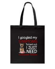 Yorkshire Terrier Symptoms Tote Bag thumbnail