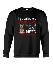 Yorkshire Terrier Symptoms Crewneck Sweatshirt thumbnail