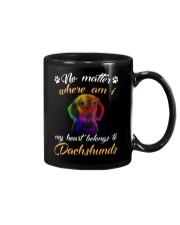 My Heart Belong To Dachshund Mug thumbnail