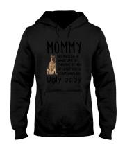 German Shepherd Ugly Baby Hooded Sweatshirt thumbnail