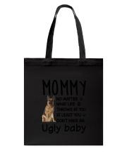 German Shepherd Ugly Baby Tote Bag thumbnail
