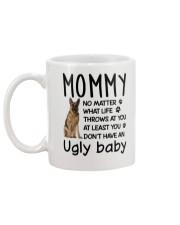 German Shepherd Ugly Baby Mug back