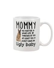 German Shepherd Ugly Baby Mug front