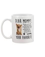 Mommy Chihuahua  Mug back