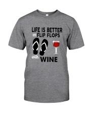 Flip Flops Wine Classic T-Shirt front