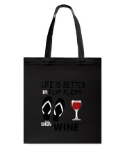 Flip Flops Wine Tote Bag thumbnail