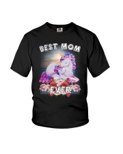 Unicorn Best Mom Youth T-Shirt thumbnail
