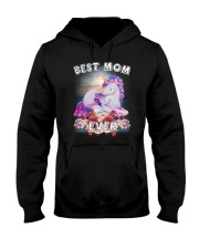 Unicorn Best Mom Hooded Sweatshirt thumbnail
