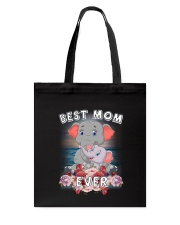 Elephant Best Mom Tote Bag thumbnail