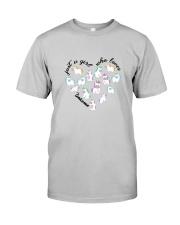 Just A Girl Unicorns Classic T-Shirt front