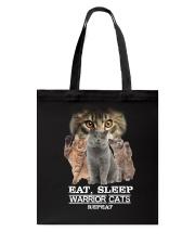 Phoebe - Cat Eat Sleep And Warrior - 104 Tote Bag thumbnail