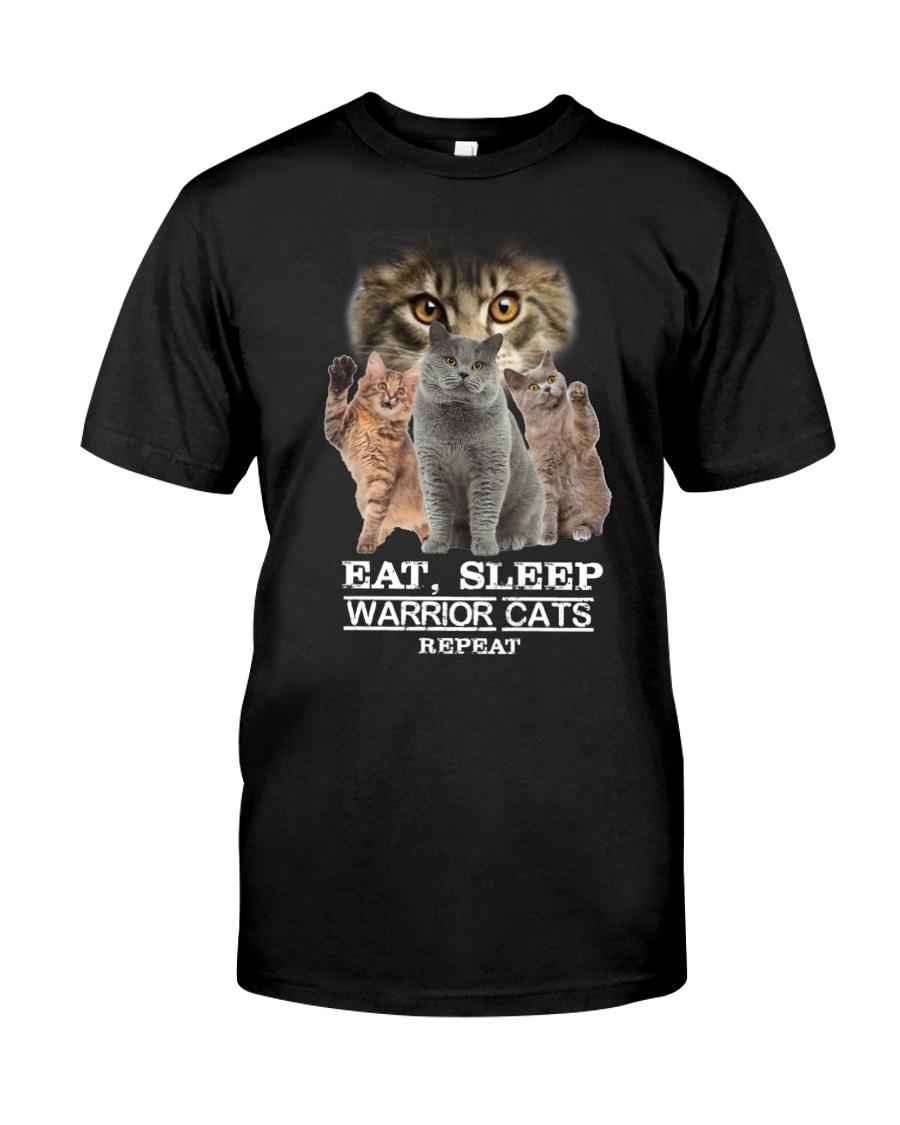 Phoebe - Cat Eat Sleep And Warrior - 104 Classic T-Shirt