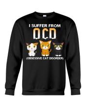 Cat OCD Crewneck Sweatshirt front