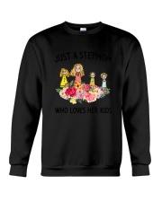 Just A Stepmom Crewneck Sweatshirt thumbnail