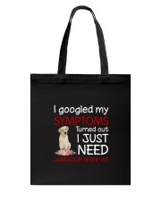 Labrador Retriever Symptoms Tote Bag thumbnail