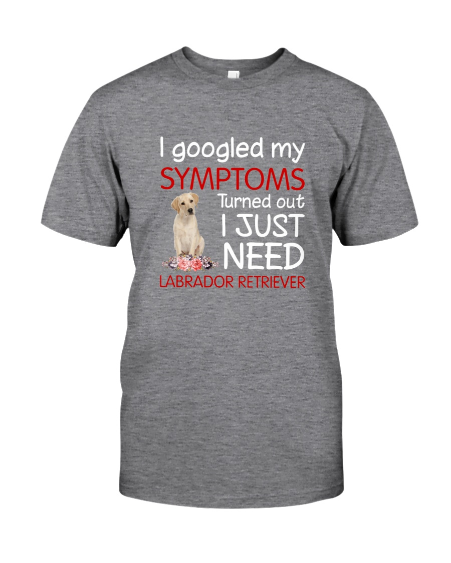 Labrador Retriever Symptoms Classic T-Shirt