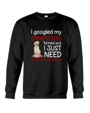Labrador Retriever Symptoms Crewneck Sweatshirt thumbnail