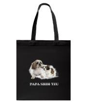 Papa Shih Tzu Tote Bag thumbnail