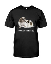 Papa Shih Tzu Classic T-Shirt front