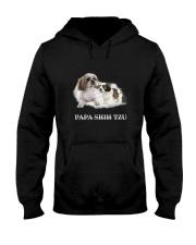 Papa Shih Tzu Hooded Sweatshirt thumbnail