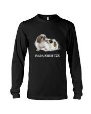 Papa Shih Tzu Long Sleeve Tee thumbnail