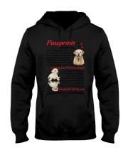 Pawprints Labrador Retriever Hooded Sweatshirt thumbnail