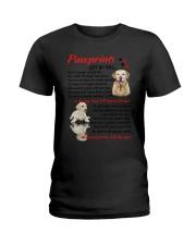 Pawprints Labrador Retriever Ladies T-Shirt thumbnail