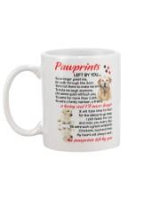 Pawprints Labrador Retriever Mug back